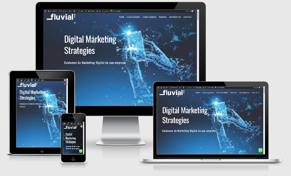 Fluvial Web - Website